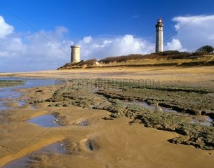 Les Phares Balienes 1854 Ancoient Tower 1699 Charente Maritime  Frankreich