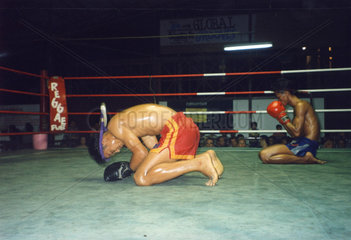 Thailand  Koh Samui  Thaiboxen  Muay Thai