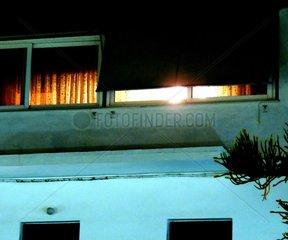 Licht Fenster Nacht