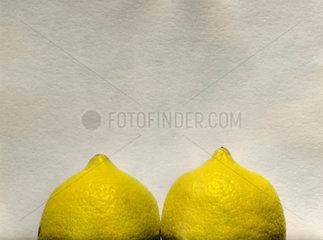 Busenfoermige Zitronen