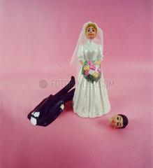 Hochzeit Kopf ab Puppe