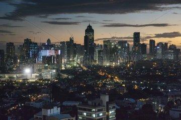 Skyline von Makati