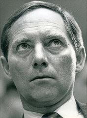 Wolfgang Schaeuble  CDU  Portraet 1985
