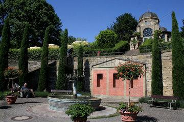 Stuttgart  Deutschland  der Maurische Garten im zoologisch-botanischen Garten Wilhelma