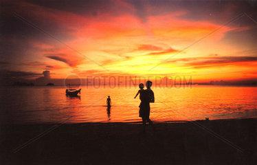Koh Samui  Sonnenuntergang  Thailand