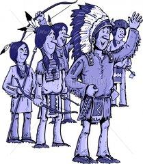 Serie Indianer Aufruf