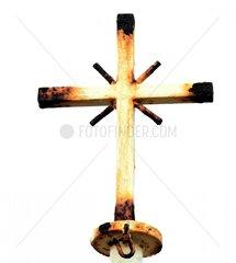 Kirchenkreuz rostiges Kreuz