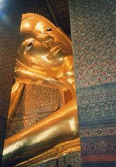 Buddha im Wat Pho in Bangkok