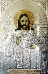 Heiligenbild Griechenland Metallpraegung