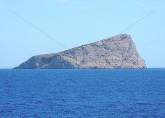 Unbewohnte Insel Nisida Piperi Griechenland
