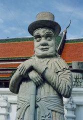 Thailand  Bangkok  Wat Po   Marco Polo 1254-1324