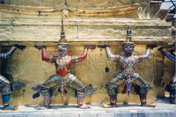 Thailand  Bangkok  Wat Phra Kaeo