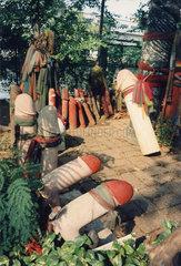 Thailand  Bangkok  Phallusschrein  Fruchtbarkeitstempel  Lingam shrine