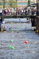 NETHERLANDS-AMSTERDAM-CITY SWIM