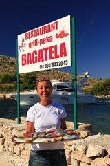 Kroatien  Kornaten  Insel Katina  Mala Proversa  Grill Bagatela