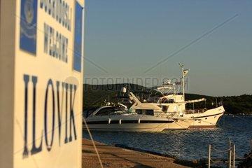 Kroatien  Kvarner  Insel Ilovik  Mole Ilovik
