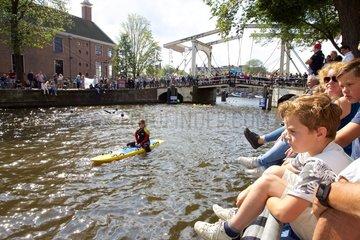 NETHERLANDS-AMSTERDAM-CITY SWIM