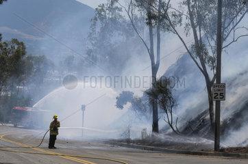 U.S.-CALIFORNIA-BRUSH FIRE