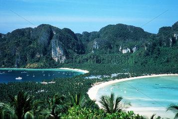 zwei Buchten  Koh Phi Phi Thailand