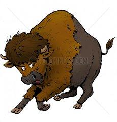 Serie Indianer Bison 4