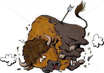 Serie Indianer Bison 6 Jagd