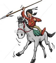 Serie Indianer Reiter 14