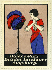 Damenmode  Kaufhaus Brueder Landauer  Augsburg  1913