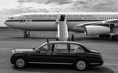 Royal Car + Regierungsflugzeug