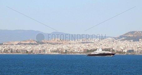 Luxusyacht Piraeus Akropolis Athen