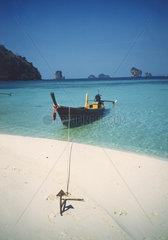 Strand Boot  Krabi Thailand
