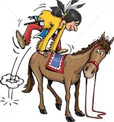 Serie Indianer Reiter 15