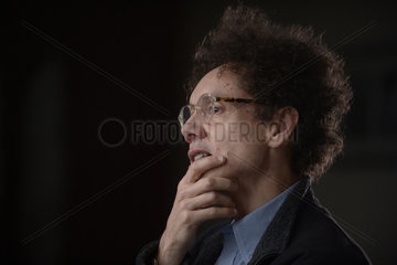 Berlin  Deutschland  US-Autor Malcolm Gladwell im Portrait