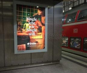 Tinder-Werbung
