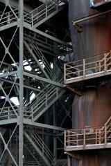 Duisburg  Deutschland  Detail der Hochofenanlage der ehemaligen Thyssen Eisenhuette Meiderich