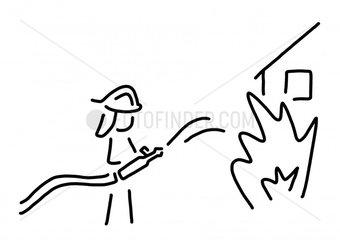 feuerwehrmann berufsfeuerwehr feuerwehrfrau