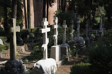 Der Protestantische Friedhof in Rome