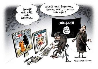 IS-Terror : Verbreitung von Hinrichtungsvideos