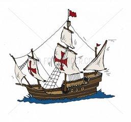 Segelschiff Columbus