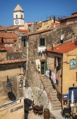 Dorf in der Toskana