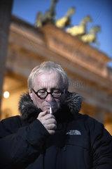 Berlin  Deutschland  Tuvia Tenenbom  Autor und Leiter des Jewish Theater of New York