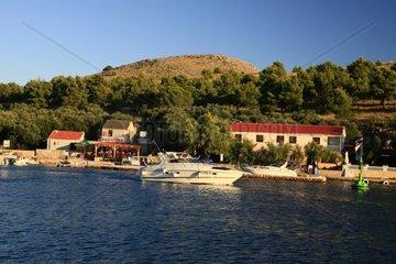 Kroatien  Kornaten  Insel Katina  Mala Proversa  Grill Bagatela und Restaurant Aquarius