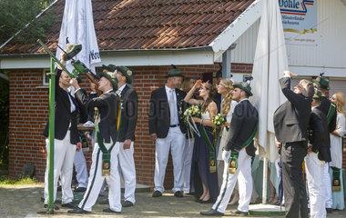 Schuetzenfest in Hoetmar  Westfalen