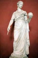 Vatikanstadt  Staat Vatikanstadt  die Statue der Muse Klio in den Vatikanischen Museen