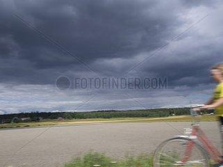 Finnland Landschaft Reisen mit Rad