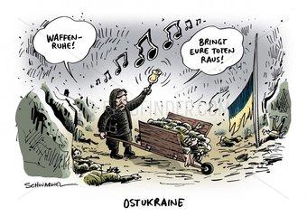 Ukraine-Krise : Vereinbarte Waffenruhe von Separatisten bedroht