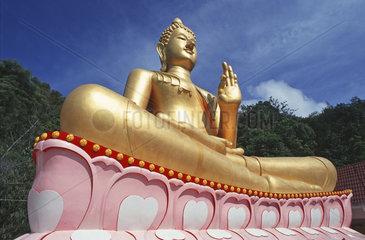 sitting Buddha gesture