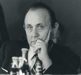 Portrait Genscher