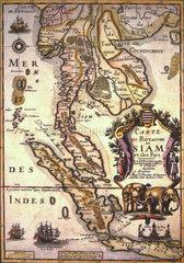 Karte von 1800