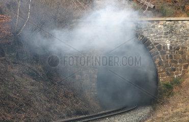 Rauch im Tunnel
