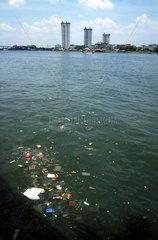 Thailand  Bangkok  Muell Umweltverschmutzung